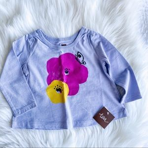 ✨2/$20✨ Tea Collection Long Sleeve Floral T-shirt